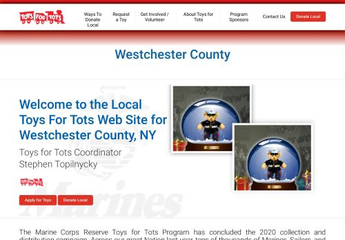 Toys for Tots -Westchester County